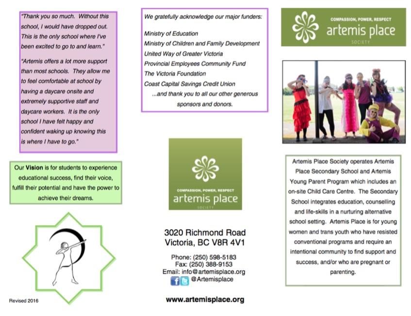 Artemis Place Brochure2016